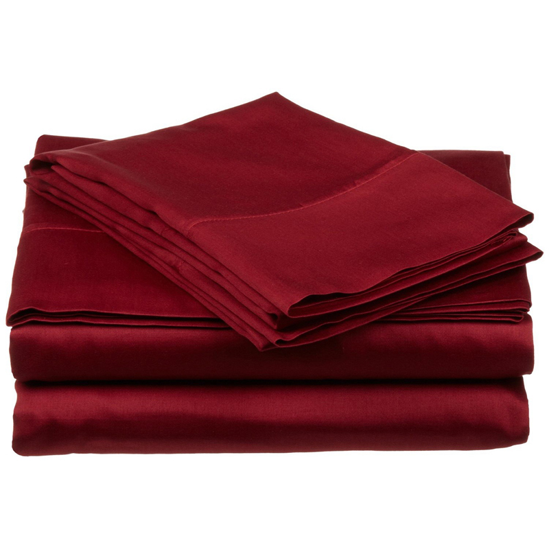 Twin XL Sheet Set Egyptian Cotton Sateen Solid 400 Thread Count photo ...