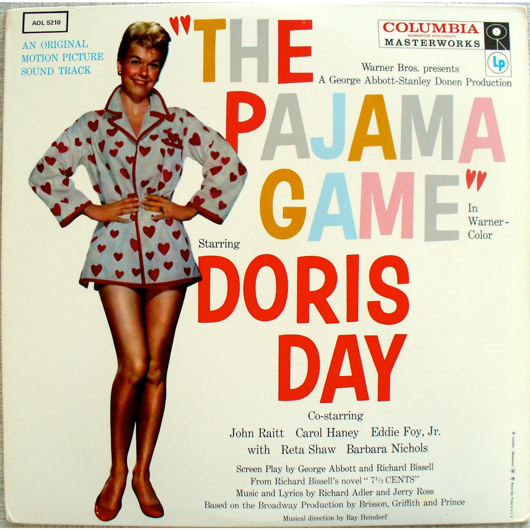 The pajama game by Richard Adler & Jerry Ross, LP with dukey - Ref ...