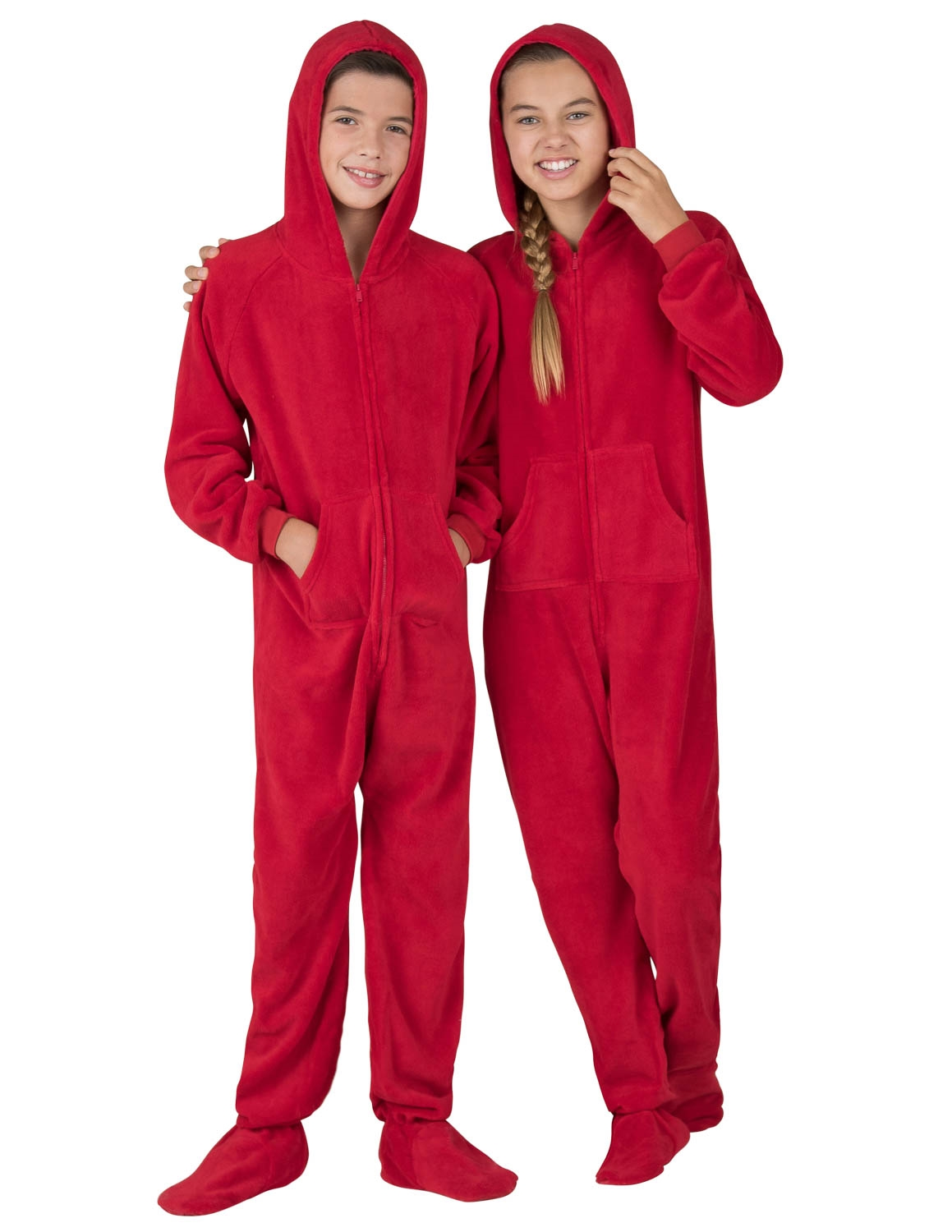 Home > Kids Footed Pajamas > Kids Chenille Footed Pjs >
