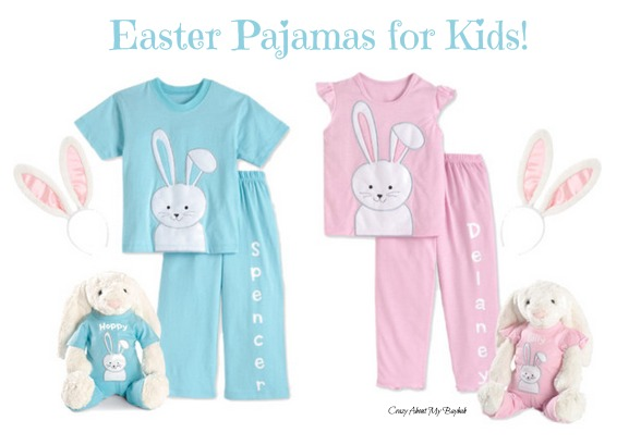 Adorable Personalized Easter Pajamas for Kids