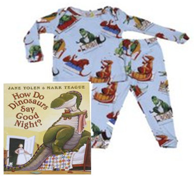 Do Dinosaurs Say Goodnight Pajama and Book Gift Set-How Do Dinosaurs ...