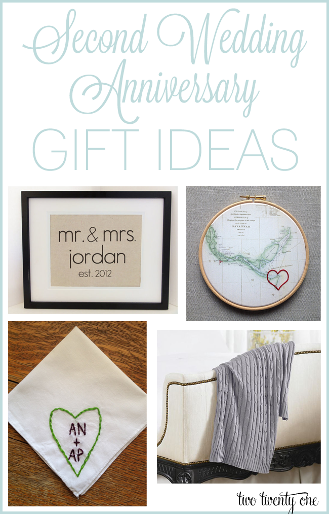 Second Anniversary Gifts for Him 50 Cotton Ideas Unique Gifter