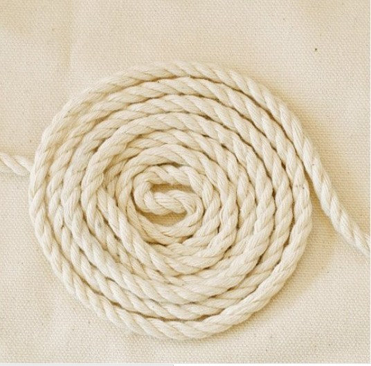 Yards Linen Cotton Rope Decorative Rope Cotton Cord by JolinTsai